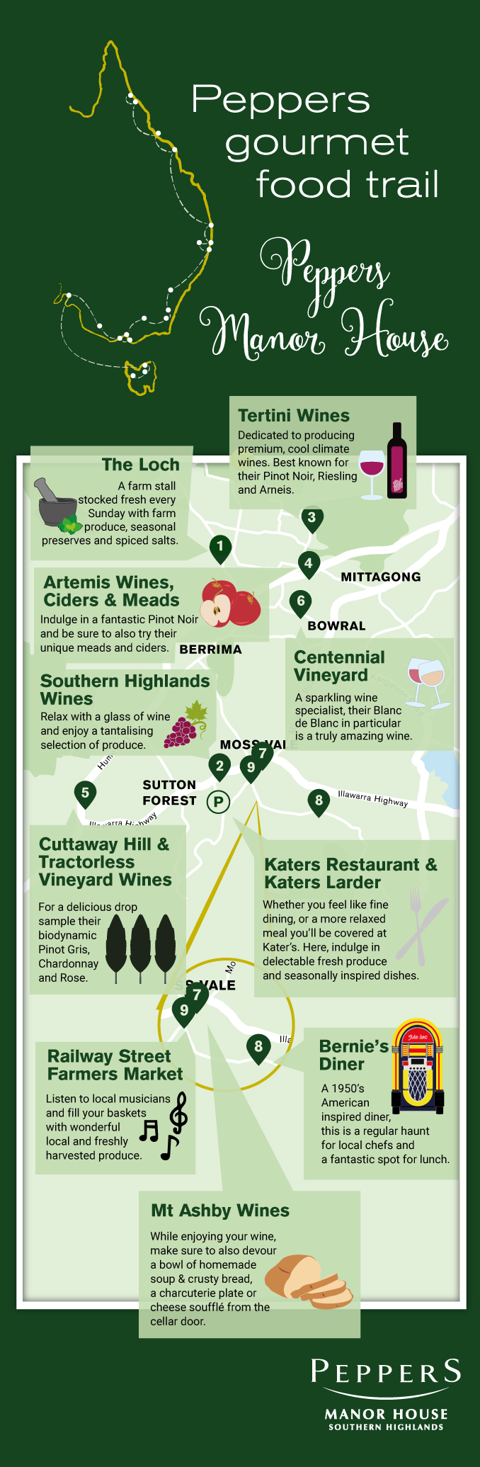 Southern Highlands Wine Tours