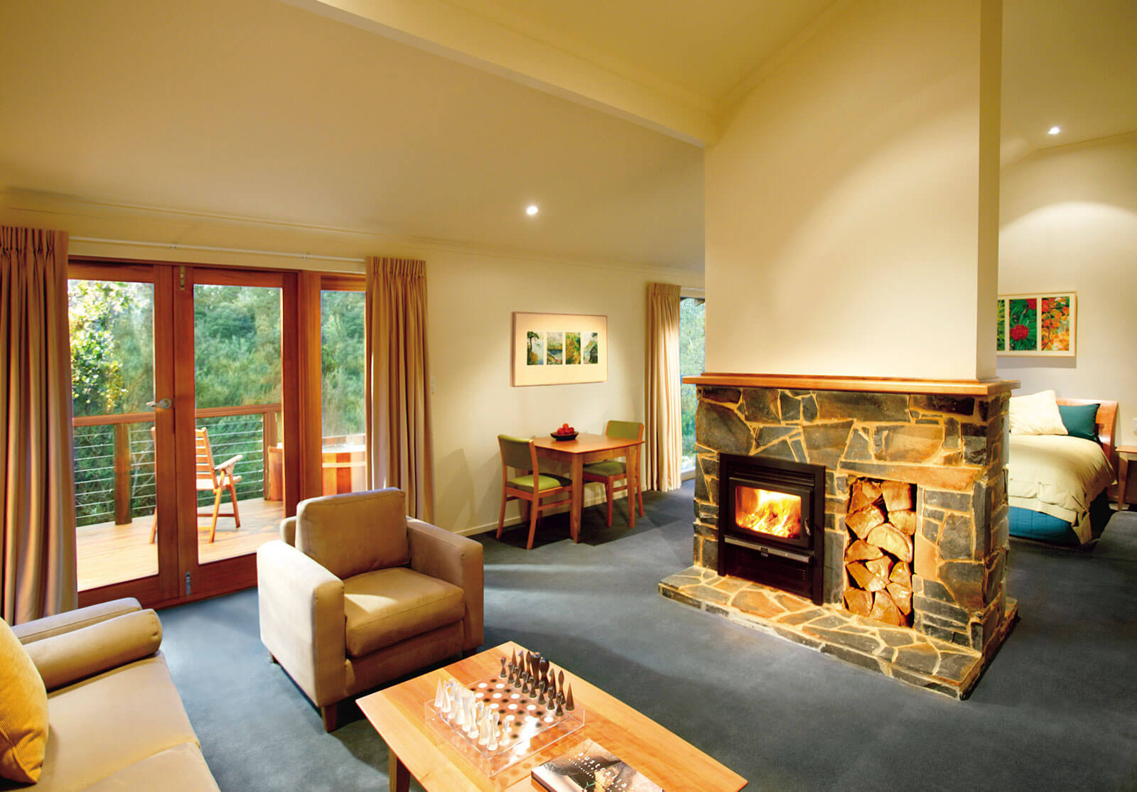 Peppers Cradle  Mountain Lodge, King Billy Suite