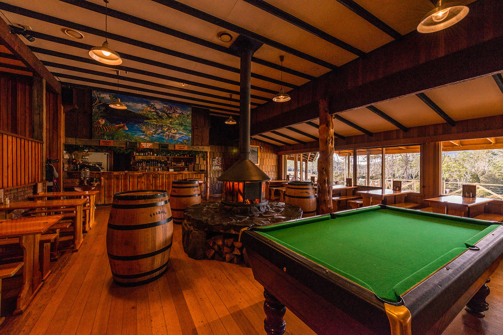 Peppers Cradle  Mountain Lodge, Tavern Bar & Bistro