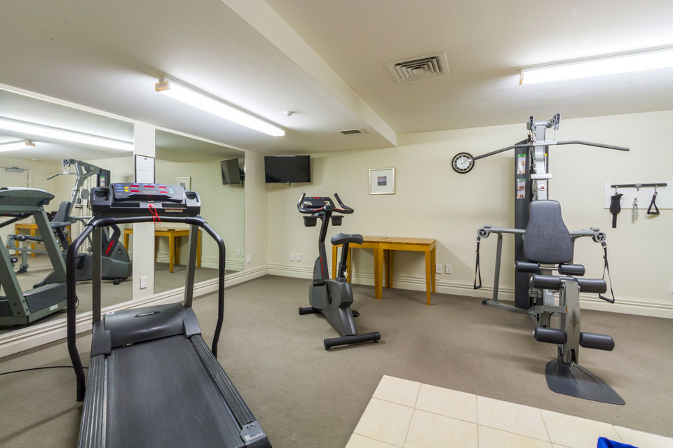 Luxury accommodation in Queenstown with an onsite gym